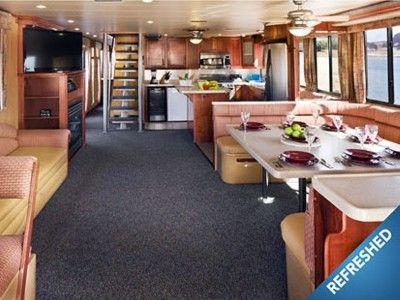 Lake Powell Houseboats | ... Lake Powell House Boat in AZ, 75' Odyssey Houseboat Wahweap Marina
