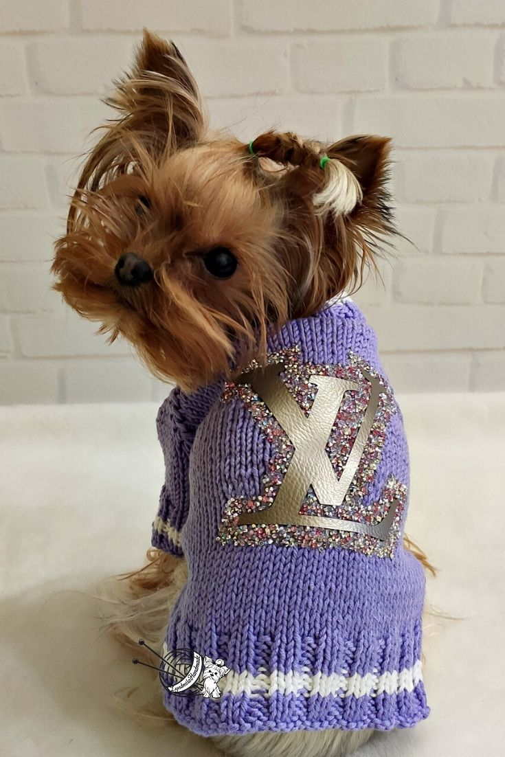 sweater Hand knitted children jacket cardigan with novelty dog buttons