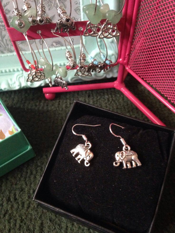 A personal favourite from my Etsy shop https://www.etsy.com/uk/listing/451002816/tibetan-silver-elephant-earrings