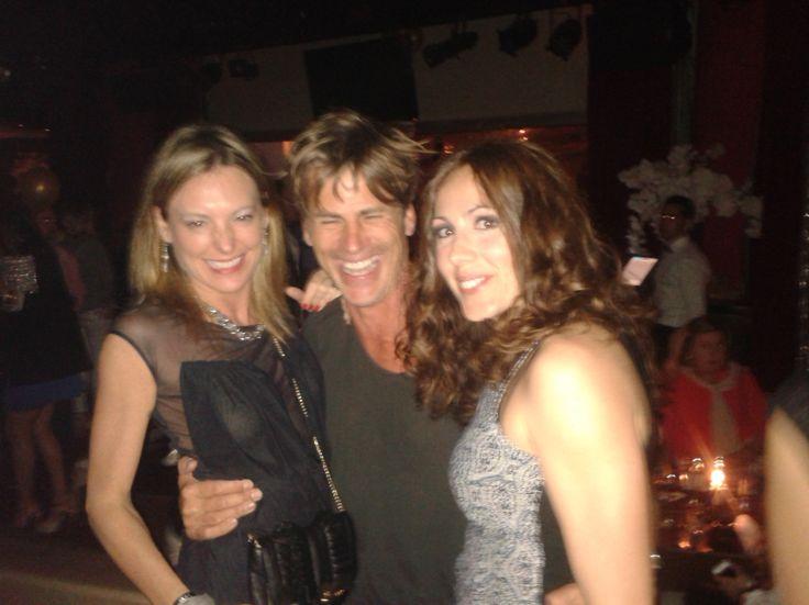 Carol Velazquez wearing Lez a Lez Ibiza, Mark Vanderloo & Friend @ Ibiza