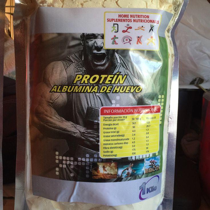 ALBUMINA DE HUEVO Proteína ultra concentrada aislada .  Gran aporte de micro nutrientes, Aminoácidos y Vitaminas . Gran recuperador muscular ,gana masa muscular limpia y rápida. Home-nutrition@hotmail.com Wsp+55982367071 $21.990 kilo
