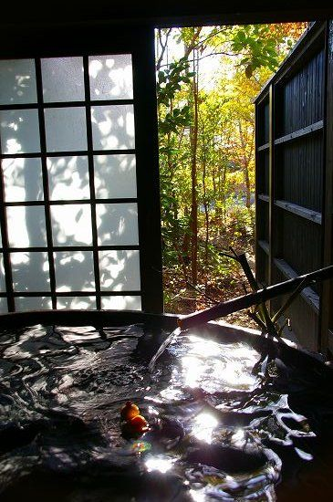 Hot spring in Saga, Japan