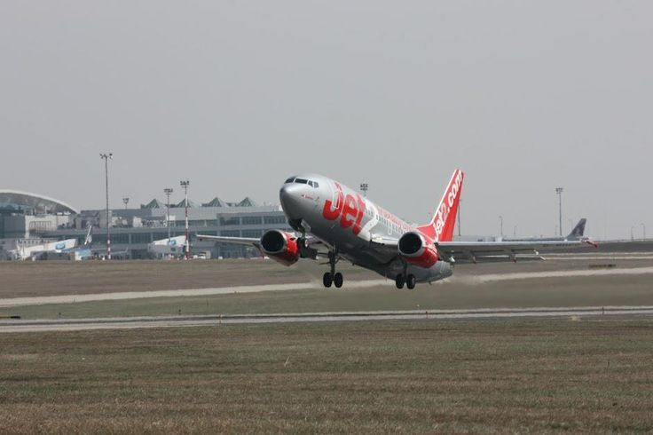 Budapest | Jet2.com taking off. credit: Budapest Airport. see on Fb  https://www.facebook.com/BudapestPocketGuide  #Budapest #travel #Travel2Budapest