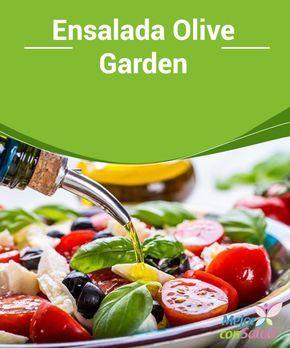 Ensalada Olive Garden ¿Has ido alguna vez a comer a Olive Garden? Esta cadena de restaurantes sirve platillos italianos y norteamericanos y tiene sedes en diferentes países.