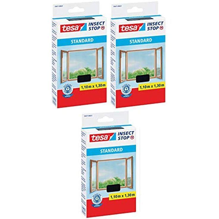 Tesa Insect Stop Standard Fliegengitter Fur Fenster 3 110 Cm X 130 Cm Baumarkt Fliegengitter Fur Fenster Fliegengitter Fenster Insektenschutz