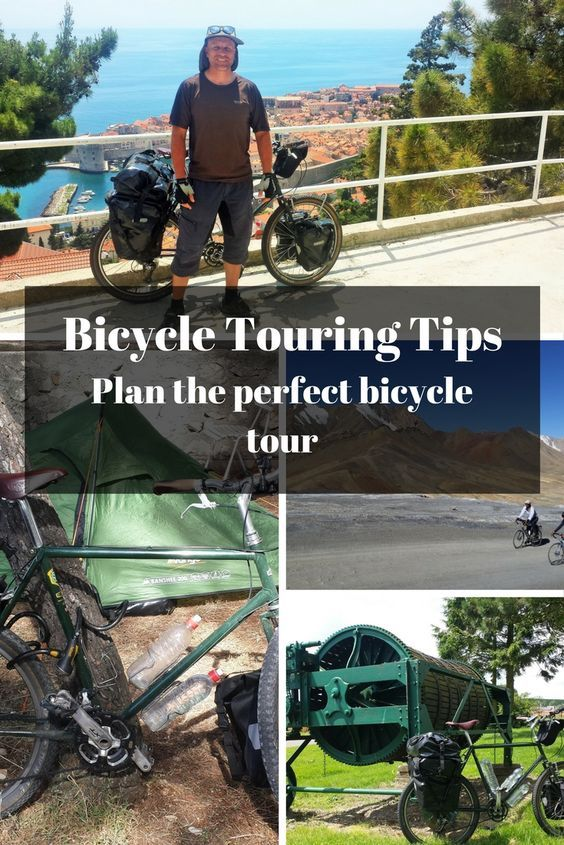Bicycle Touring Tips - Plan The Perfect Long Distance Cycling Tour https://www.pinterest.co.uk/pin/464644886546616209/