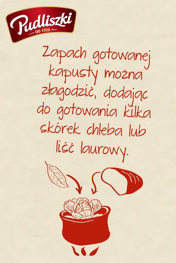 Kuchenne sztuczki #porady #kulinarne #kapusta #zapach