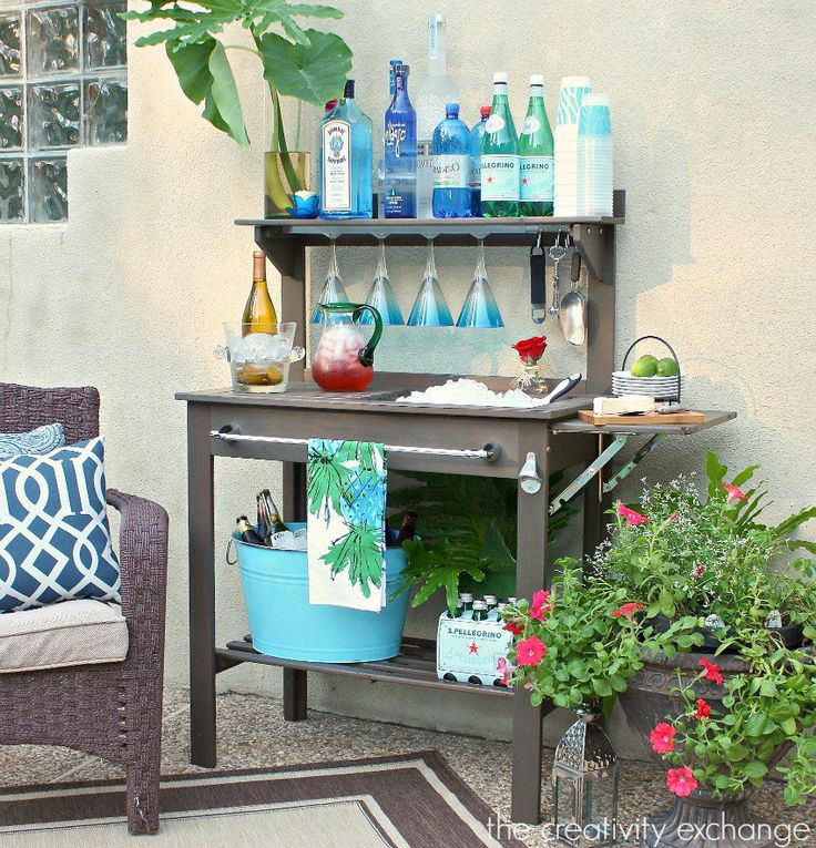 39 Ingenious Diagrams For Your Home And Garden Projects: 25+ Best Ideas About Potting Bench Bar On Pinterest