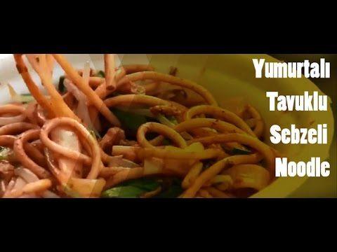 Şangay Sokak Yemeği - Yumurtalı Tavuklu Sebzeli Noodle | Sokak Yemekleri
