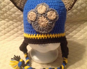 Marshall Paw Patrol Crochet Hat Pattern Free : Paw patrol, Newborn babies and Babies on Pinterest