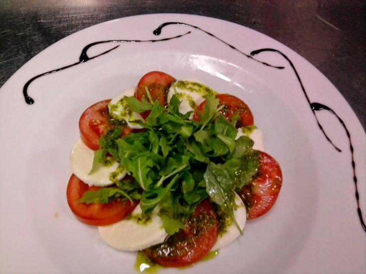 cozinha talento: receita gourmet de tomate  mozarela