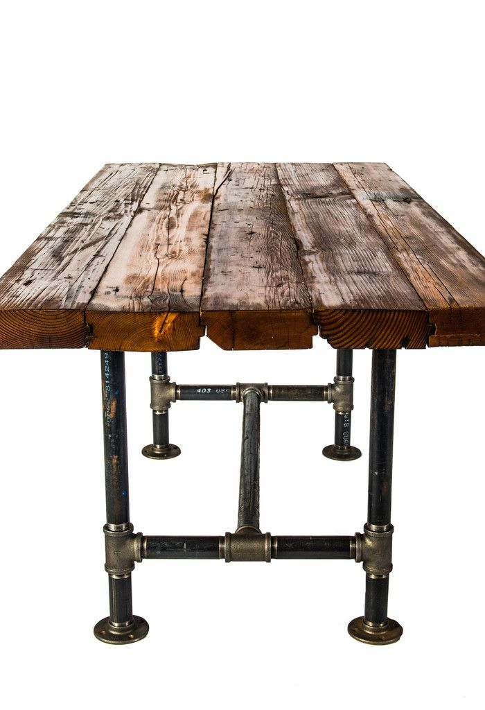 25 best ideas about industrial table on pinterest industrial table legs pipe table and - Industrial kitchen tables ...
