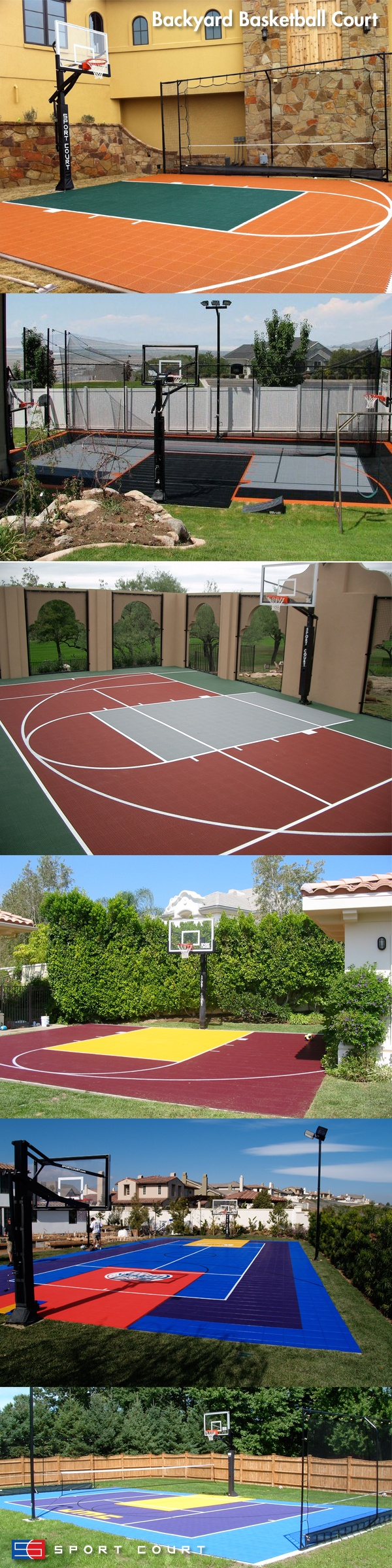 8 best sport court images on pinterest backyard basketball court