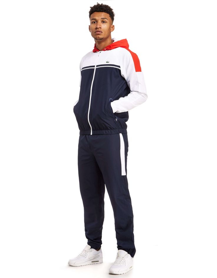 Lacoste Panel Tracksuit - Shop online for Lacoste Panel Tracksuit with JD Sports, the UK's leading sports fashion retailer.