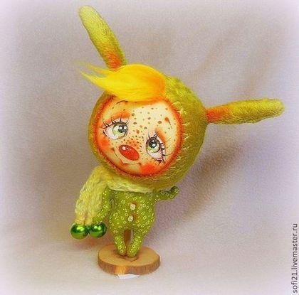 Позитивный ЗаЙ) - кукла,зайка,авторская игрушка,разные