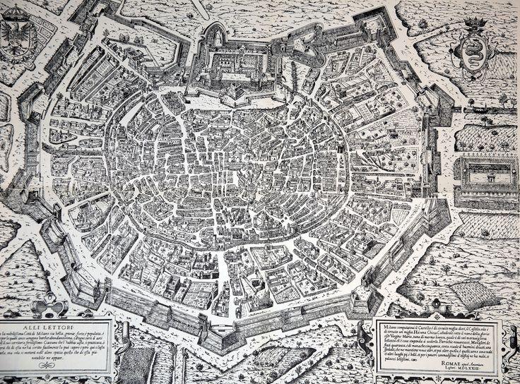 Milano 1573 #mappe #storia #milano