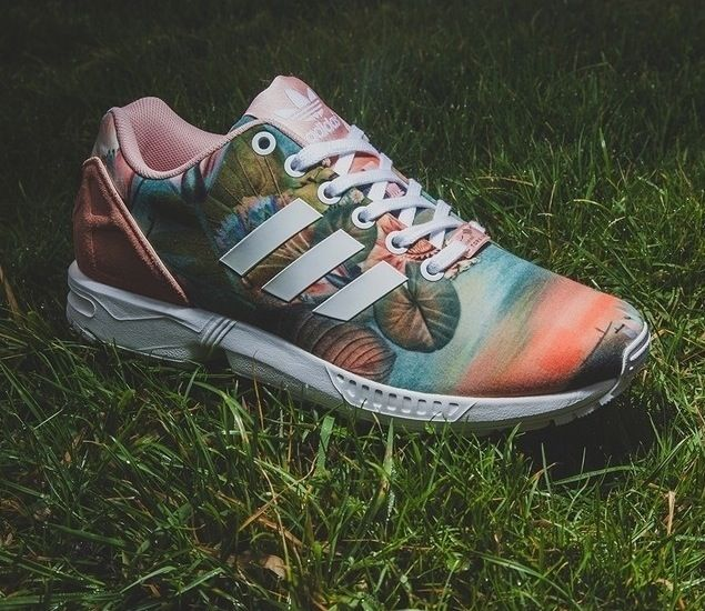 promo code 4cece af7f2 Adidas Flux Women Floral wallbank-lfc.co.uk