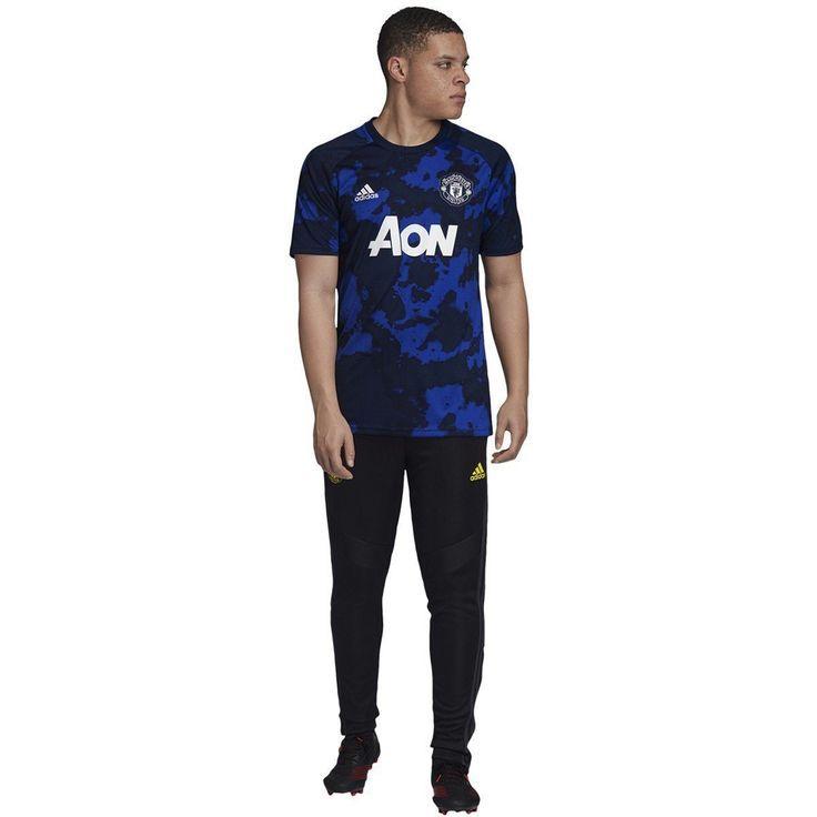 Adidas Men S Manchester United Prematch Jersey Dx9089 In 2020 Jersey Design Manchester United Adidas Men