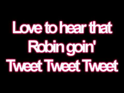 Jackson 5 - Rockin' Robin//Lyrics.  I love this song.  It makes me dance every time I hear it.