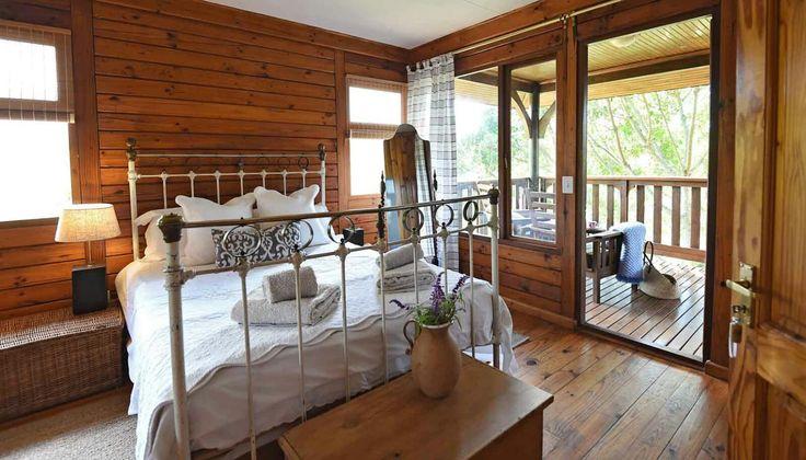 Bedroom 1 with en-suite bathroom and deck #louannwaters