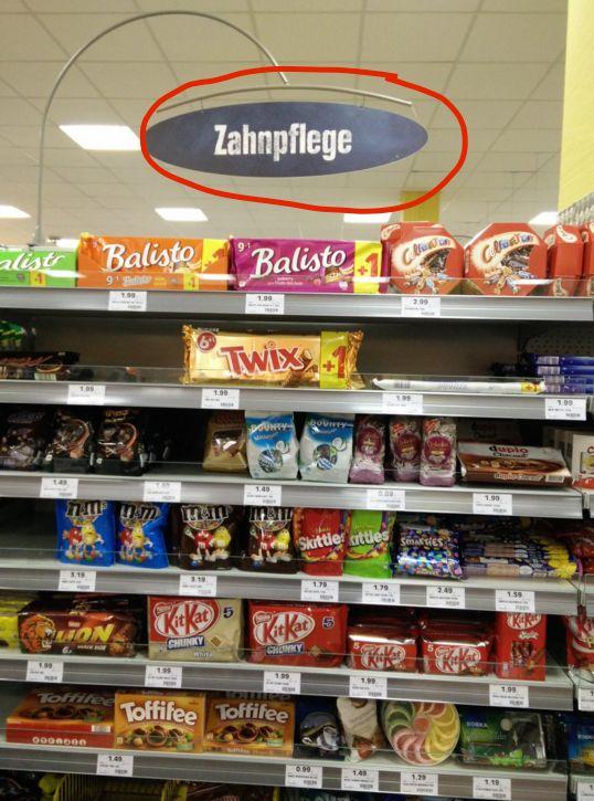 Diese Pflegeprodukte.   57 Supermarkt-Fails, die die Geschichte verändert haben