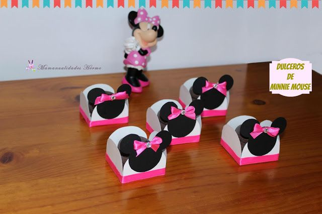 378 best manualidades herme images on pinterest - Manualidades minnie mouse ...