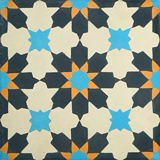 VN Azule 1 Maroc Portugese cementtegel van Designtegels.nl
