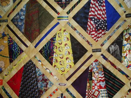 17 Best images about tie quilts on Pinterest All tied up, Old ties and Neckties
