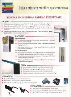 Portas Corta Fogo - ENGEFROM ENGENHARIA E REPRESENTAÇÕES. www.engefrom.eng.br
