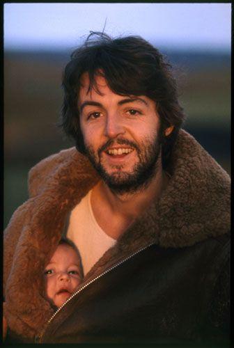 Cute pic! by Linda McCartney, McCartney Album Cover, Scotland, 1970.