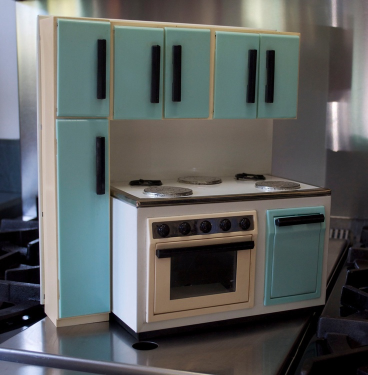 Dream Kitchen Toy Refrigerator: 195 Best Images About Toy Kitchens On Pinterest