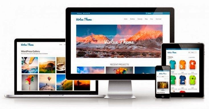 Virtue Free Responsive Wocommerce Wordpress Theme
