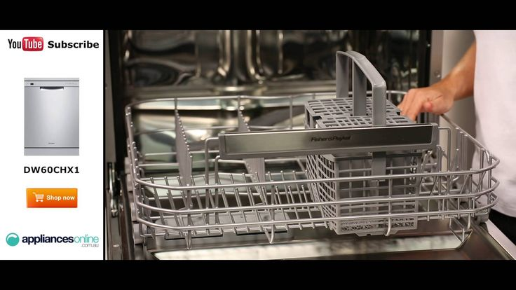 Fisher & Paykel Dishwasher DW60CHX1 reviewed by expert - Appliances Online