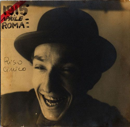 "Fortunato Depero - ""Cynical Laughter"", Self-Portrait, 1915"