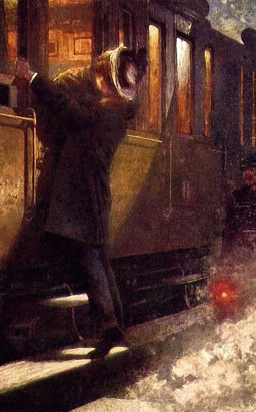 Unknown Artist Farewell At Train.