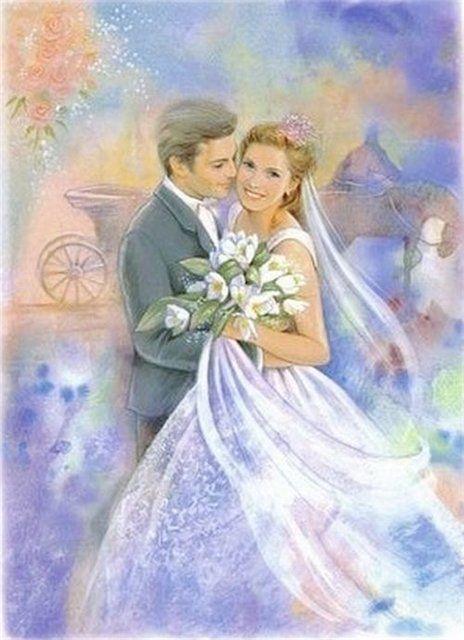 Свадебная тематика.Картинки,открытки,альтер скрап. | 1 303 фотографии