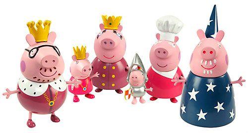 купить набор игрушек свинка пеппа