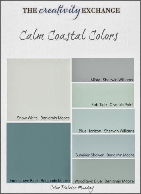 StylishBeachHome.com: Paint Your Home with Coastal Colors: Watery blues