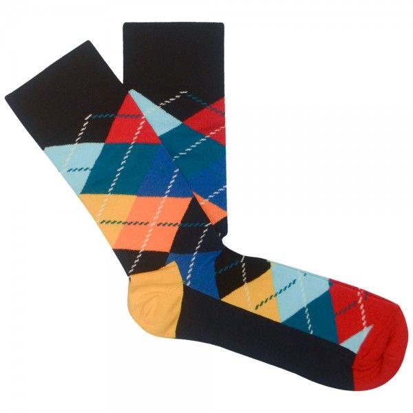 Happy Socks - Argyle Sock Multi Colour