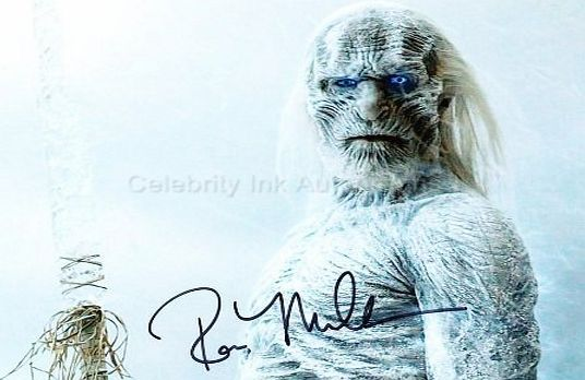 Game Of Thrones Autographs ROSS MULLAN as a White Walker - Game Of Thrones GENUINE AUTOGRAPH No description (Barcode EAN = 0616909004607). http://www.comparestoreprices.co.uk/celebrity-autographs/game-of-thrones-autographs-ross-mullan-as-a-white-walker--game-of-thrones-genuine-autograph.asp