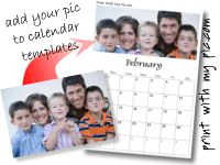 Print With My Pic | printable photo cards, photo calendars, invitations with your pictures, announcements, and photo frames