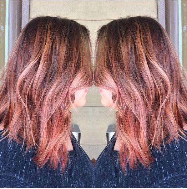 Like the multi color strands |