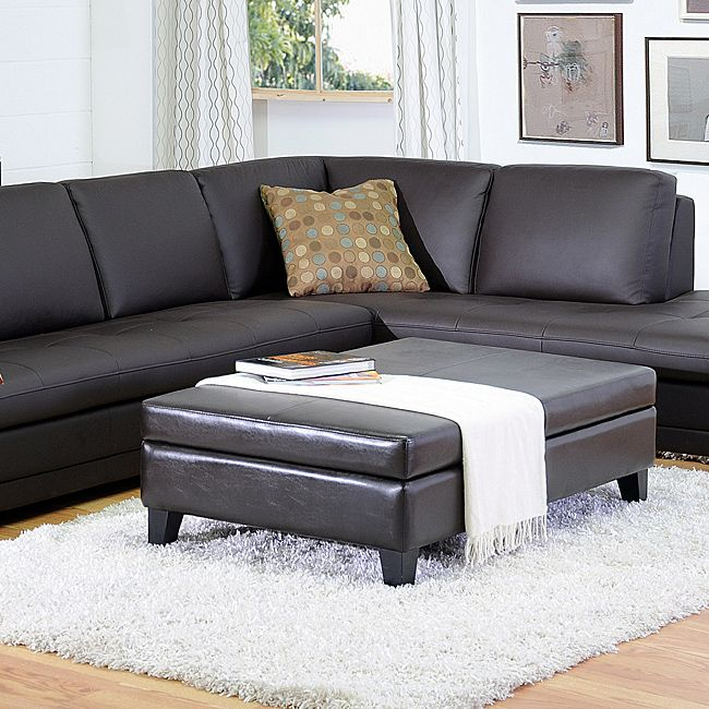 benches in living room by cast leather flip top storage bench ottoman by baxton 16142