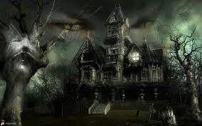 ett trevligt hus men lite läskigt