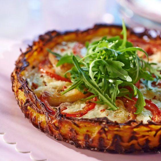 Découvrez la recette Tarte rösti au chèvre sur cuisineactuelle.fr.