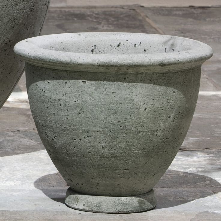 17 best images about cast stone on pinterest planters whiskey barrel planter and cast stone - Casting concrete planters ...