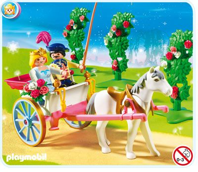 Playmobil 5871 Fairy Tale Playset: Princess with Horse Carriage
