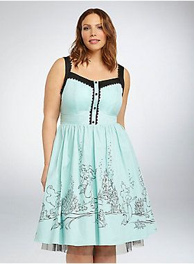 Disney Ariel Collection Swing Dress