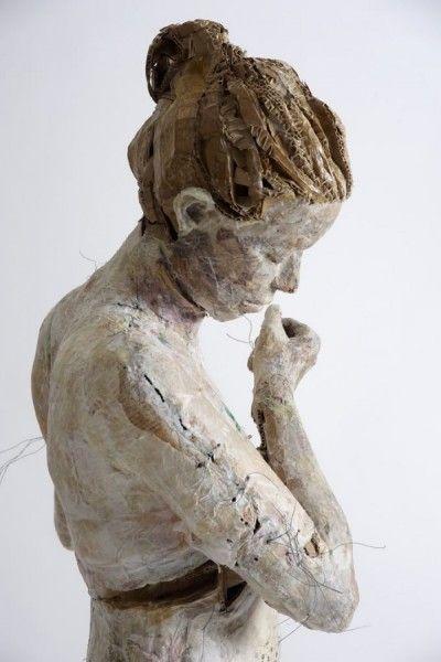 Скульптуры из бумаги - греческое искусство (4)