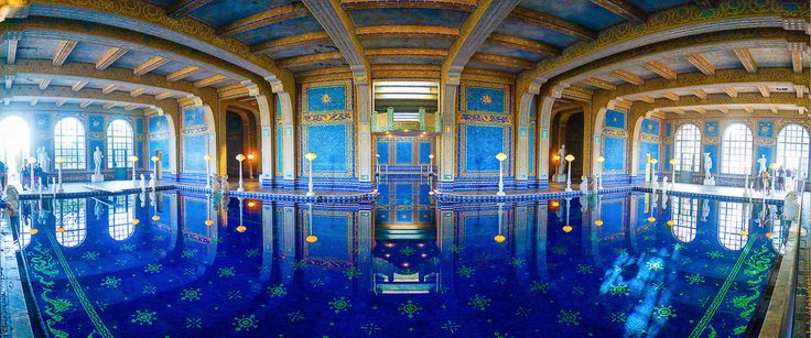 #roman_pool #william_randolph_hearst #hearst_castle #san_simeon #ca #baths_of_caracalla  #ancient_rome #indoor_roman_pool #luxe #luxury #luxurious #swimming_pool #noipic